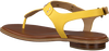 Gelbe MICHAEL KORS Sandalen MK PLATE THONG  - small