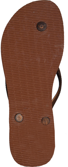 Braune HAVAIANAS Zehentrenner SLIM ANIMALS - large
