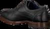 Schwarze OMODA Business Schuhe 735-A - small