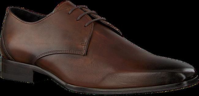 Cognacfarbene MAZZELTOV Business Schuhe 3753  - large