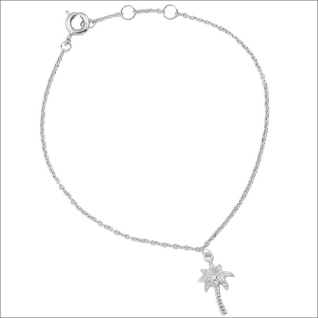 Silberne ALLTHELUCKINTHEWORLD Armband SOUVENIR BRACELET PALM TREE - large