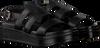 Schwarze SHABBIES Sandalen 170020123  - small