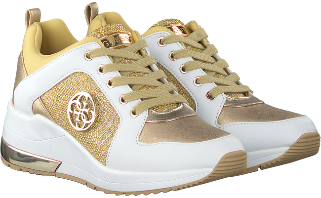 Goldfarbene GUESS Sneaker low JARYDS  - large