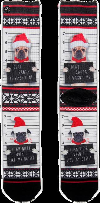 Mehrfarbige/Bunte XPOOOS Socken XMAS - large