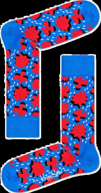 Blaue HAPPY SOCKS Socken COMIC RELIEF - large