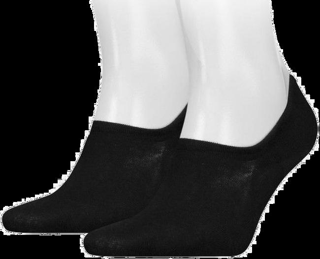 Schwarze TOMMY HILFIGER Socken TH MEN FOOTIE - large