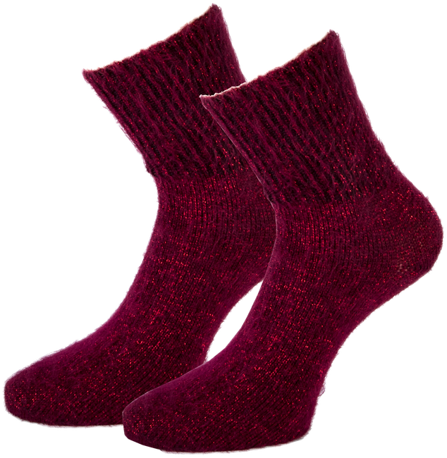 Rote MARCMARCS Socken ALEXIA - large