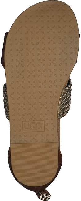 cognac UGG shoe MARABEL METALLIC  - large