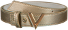 Goldfarbene VALENTINO HANDBAGS Gürtel DIVINA BELT  - small