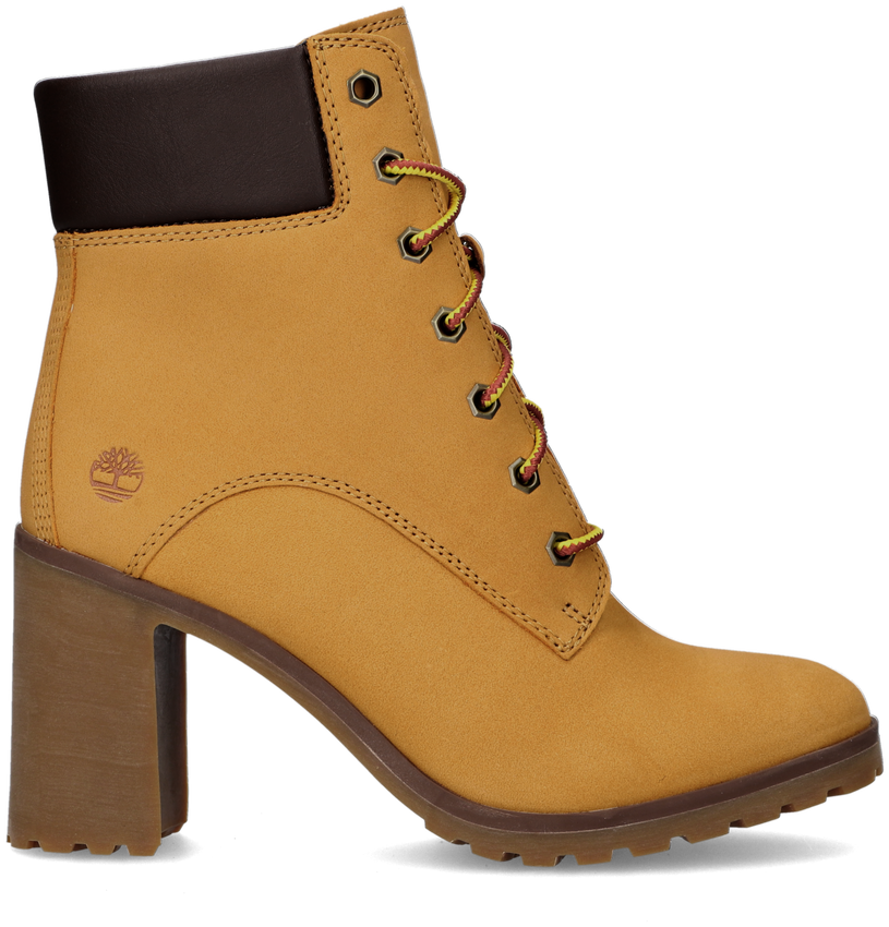 Camelfarbene TIMBERLAND Ankle Boots ALLINGTON 6IN LACE - larger