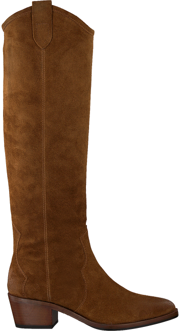 Cognacfarbene NOTRE-V Hohe Stiefel BY6205X  - large