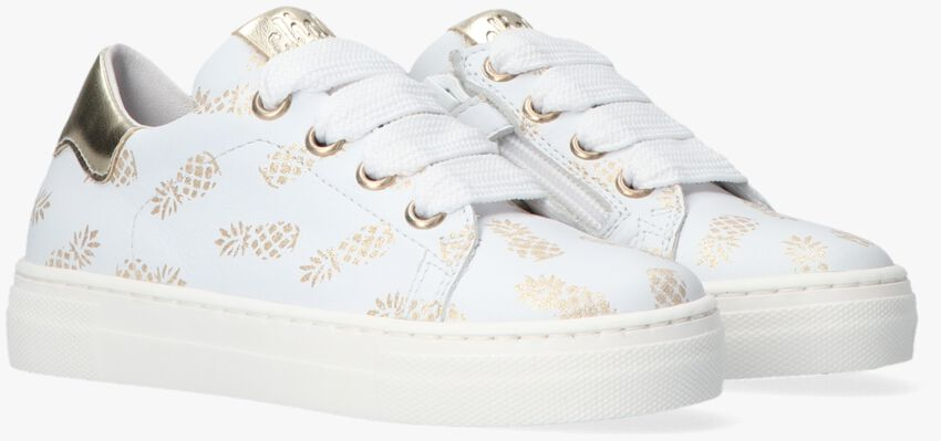 Weiße CLIC! Sneaker 9493 - larger