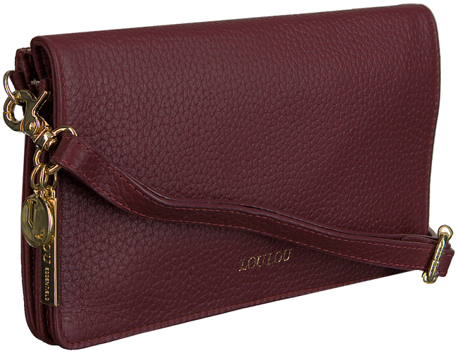 Rote BY LOULOU Clutch BEAU VEAU - large