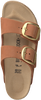 Cognacfarbene BIRKENSTOCK Pantolette ARIZONA BRANDY  - small