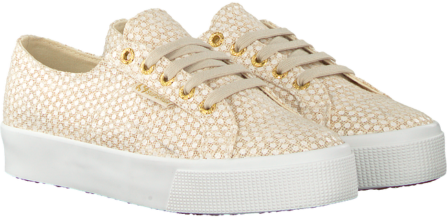 Blaue SUPERGA Sneaker 2730 FANTASYCOTLINENW - large