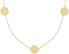 Goldfarbene JEWELLERY BY SOPHIE Kette NECKLACE LITTLE ROUNDS - small