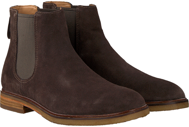 Braune CLARKS Chelsea Boots CLARKDALE GOBI HEREN - large
