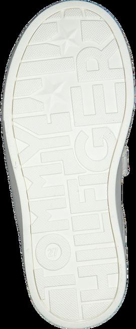 Weiße TOMMY HILFIGER Sneaker low LOW CUT LACE-UP/VELCRO SNEAKER  - large