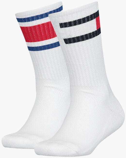 Weiße TOMMY HILFIGER Socken TH KIDS FLAG 2P  - large