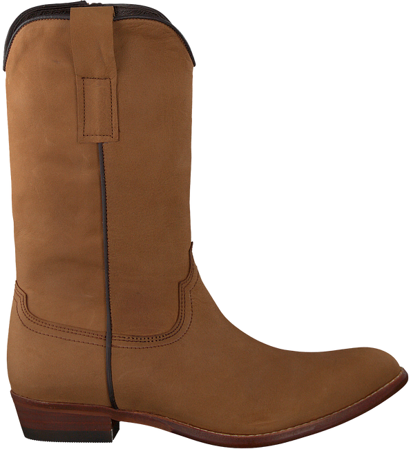 Cognacfarbene CLIC! Hohe Stiefel 7102 - large