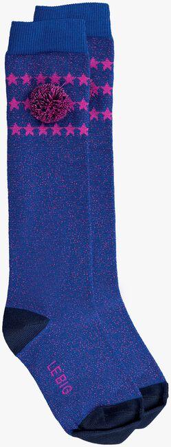 Blaue LE BIG Socken PADMA KNEE HIGH  - large