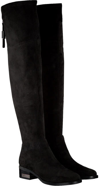 Schwarze GUESS Hohe Stiefel FLPL24 ESU11 - large