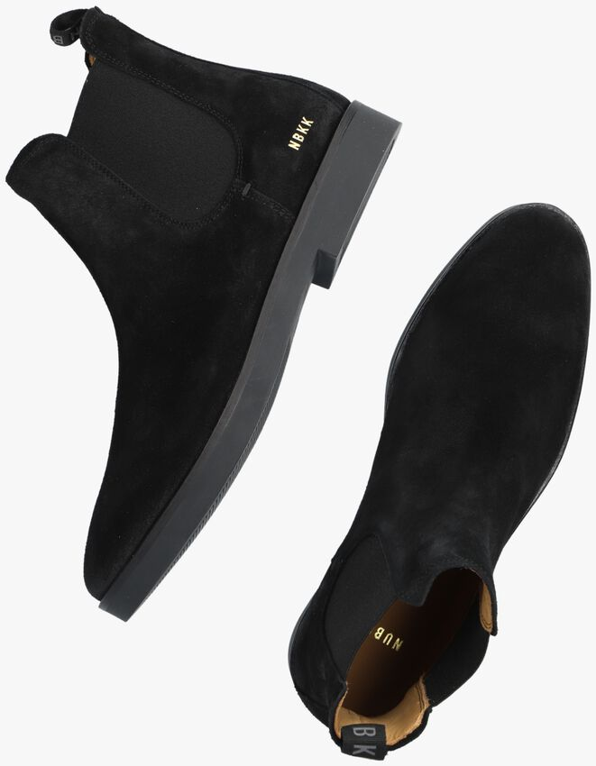 Schwarze NUBIKK Chelsea Boots LOGAN CHELSEA - larger