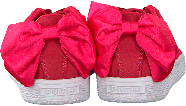 roze PUMA Sneakers SUEDE BOW JR  - large