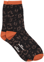 Schwarze BECKSONDERGAARD Socken LEO GLITZI SOCK  - medium