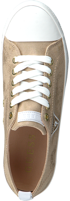 Goldfarbene GUESS Sneaker low BRIGS  - large