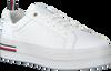 Weiße TOMMY HILFIGER Sneaker low MODERN FLATFORM  - small