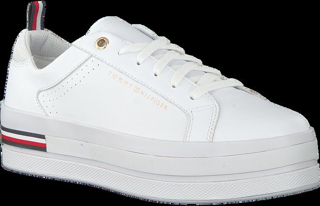 Weiße TOMMY HILFIGER Sneaker low MODERN FLATFORM  - large