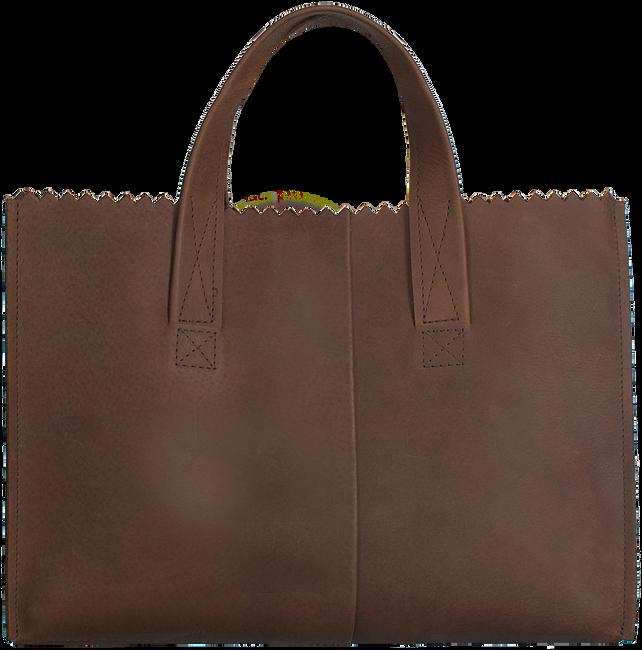 Braune MYOMY Handtasche HANDBAG CROSS-BODY - large