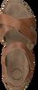 Braune CA'SHOTT Sandalen 15040 - small