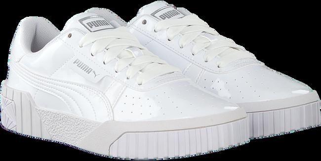 Weiße PUMA Sneaker low CALI PATENT JR  - large
