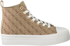 Beige GUESS Sneaker high BOKAN  - small