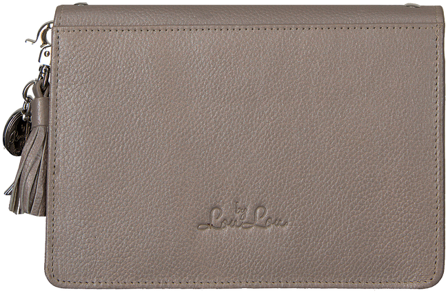 Graue BY LOULOU Umhängetasche 10BAGXL119S - large