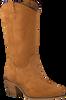 Cognacfarbene NOTRE-V Hohe Stiefel 8438  - small
