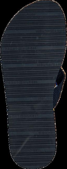 Blaue TOMMY HILFIGER Pantolette FLAT BEACH  - large