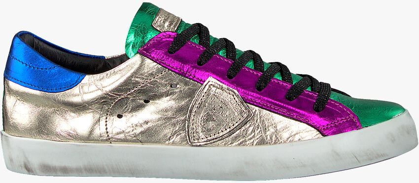 Mehrfarbige/Bunte PHILIPPE MODEL Sneaker PARIS L JUNIOR  - larger