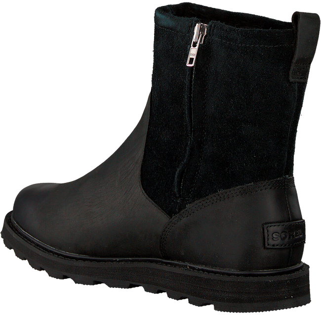 Schwarze SOREL Ankle Boots MADSON ZIP WP - large