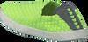 Grüne ROCK SPRING Slip-on Sneaker WARHOL - small
