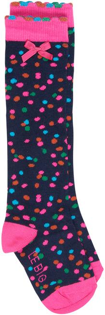 Schwarze LE BIG Socken KYARA KNEEHIGH - large