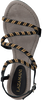 Schwarze LAZAMANI Sandalen 85.268  - small