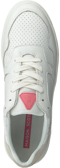 Weiße SCOTCH & SODA Sneaker low CATE  - large
