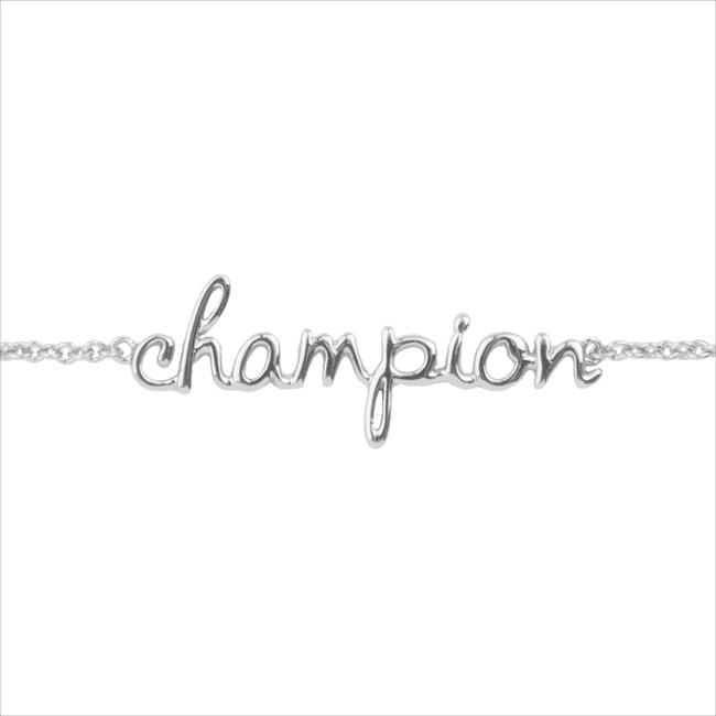 Silberne ALLTHELUCKINTHEWORLD Armband URBAN BRACELET CHAMPION - large