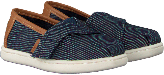 Blaue TOMS Slipper ALPARGATA  - large
