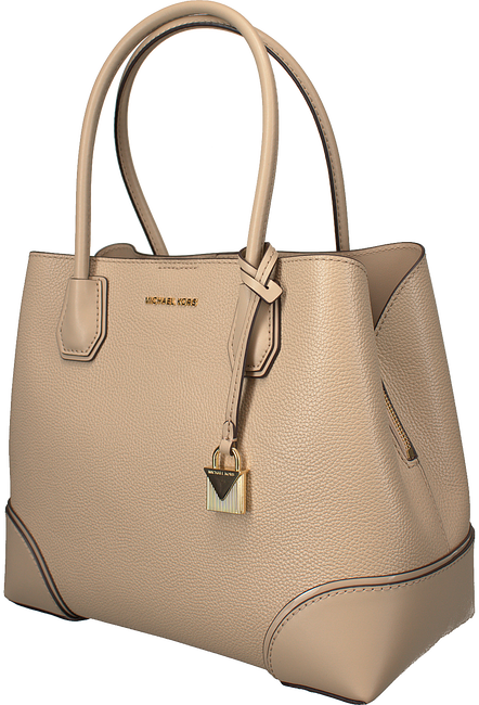 Beige MICHAEL KORS Handtasche MD CENTER ZIP TOTE - large