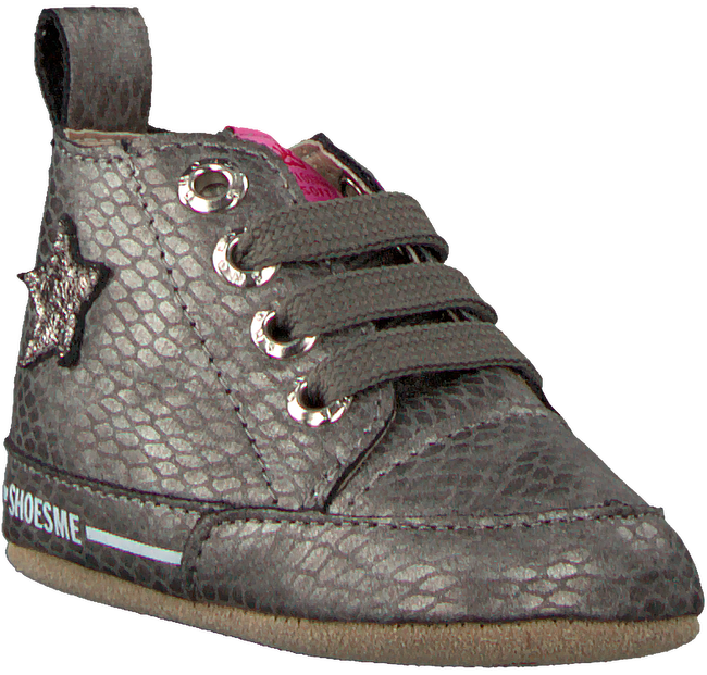 Silberne SHOESME Babyschuhe BS9A001  - large
