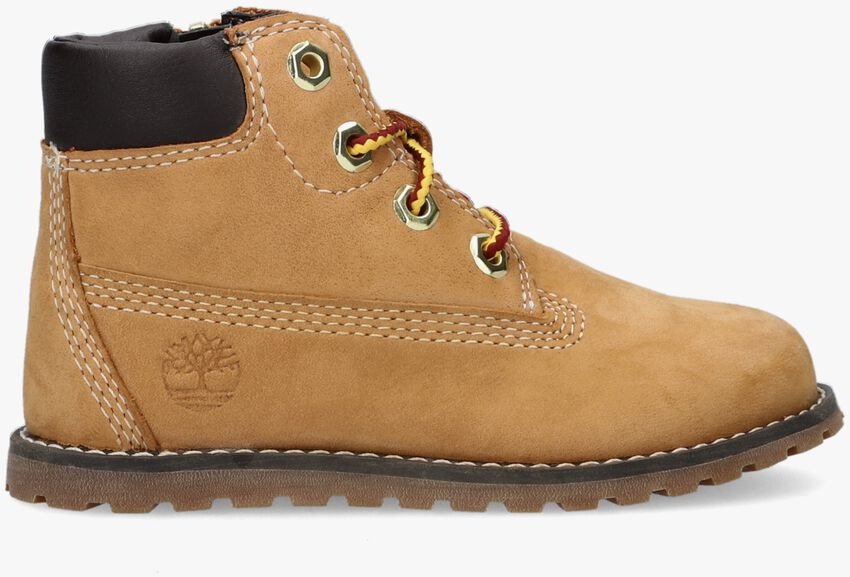 Camelfarbene TIMBERLAND Ankle Boots POKEY PINE 6IN BOOT - larger